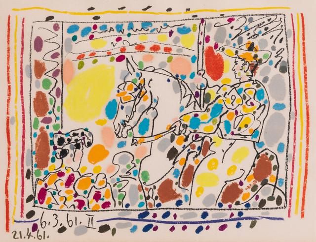 Pablo Picasso, 'Le Picador II', 1961, Hindman