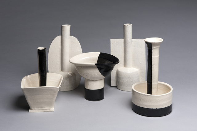 , 'Five Piece Set, Black and White,' , LACOSTE / KEANE GALLERY