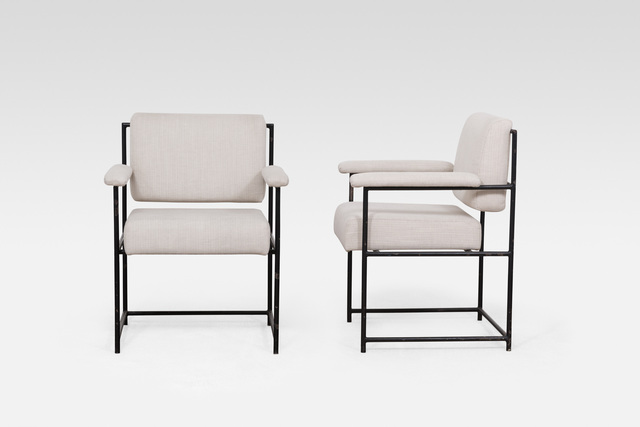 , 'Pair of armchairs,' ca. 1955, Galerie Le Beau