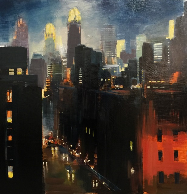 , 'Night and the City,' 2016, Sue Greenwood Fine Art