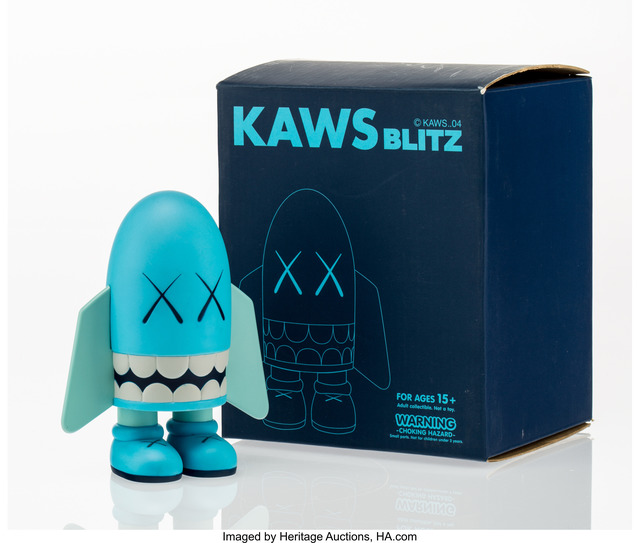 KAWS, 'Blitz (Blue)', 2004, Heritage Auctions