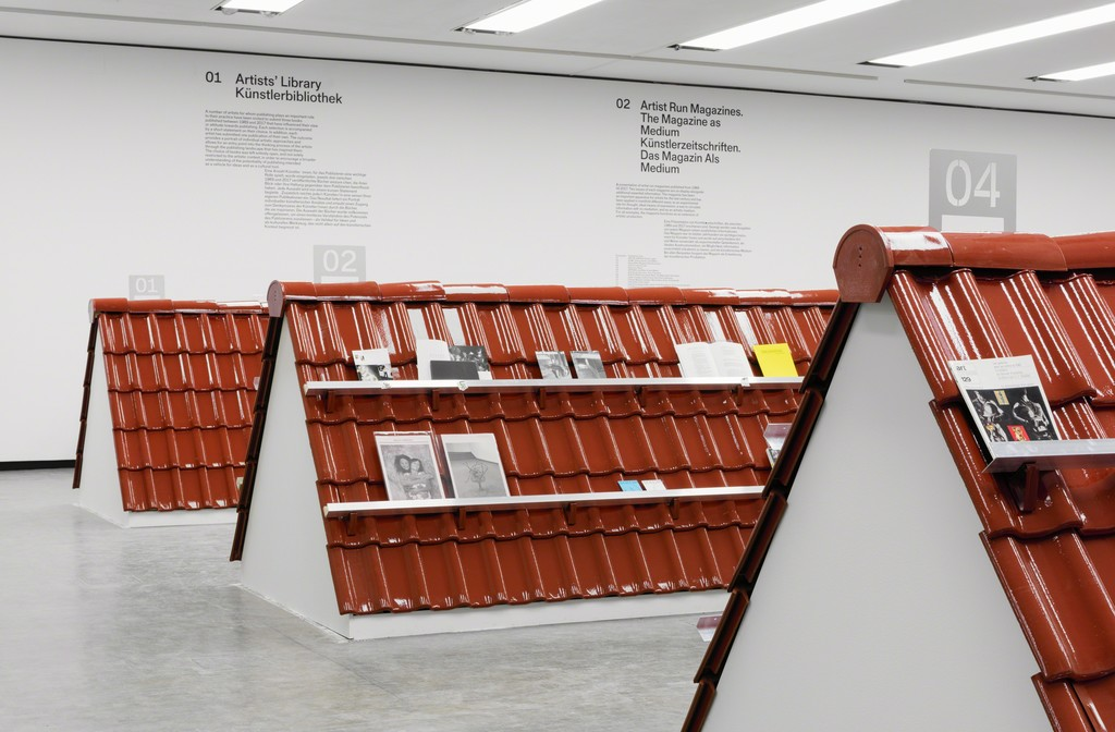 Exhibition view: Publishing as an Artistic Toolbox: 1989–2017, Kunsthalle Wien 2017, Photo: Stephan Wyckoff