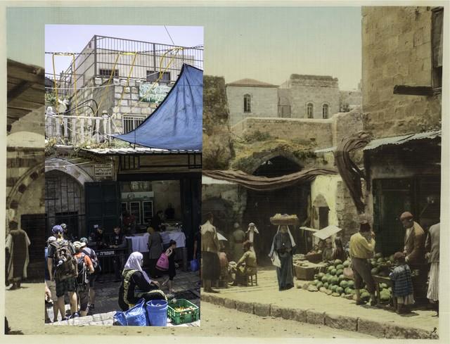 Jack Persekian, 'Al Wad - Khan El Zeit junction', 2017, Zawyeh Gallery