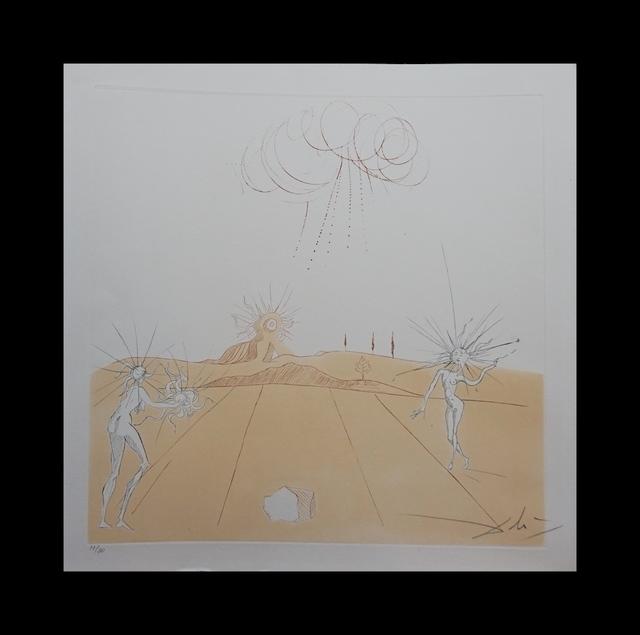 Salvador Dalí, 'Neuf Paysages Paysage avec Figures-Soleil from Sun', 1980, Fine Art Acquisitions