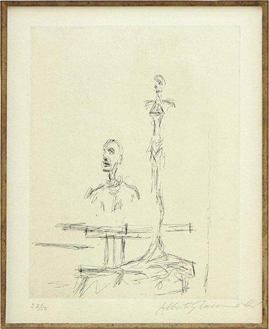 , 'Dans l'Atelier,' 1965, F.L. Braswell Fine Art