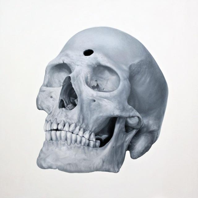 , 'Mystery Skull,' 2016, Yavuz Gallery