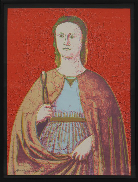 Andy Warhol, 'Saint Apollonia (FS II.330)', 1984, Print, Screenprint on Essex Offset Kid Finished Paper, Revolver Gallery