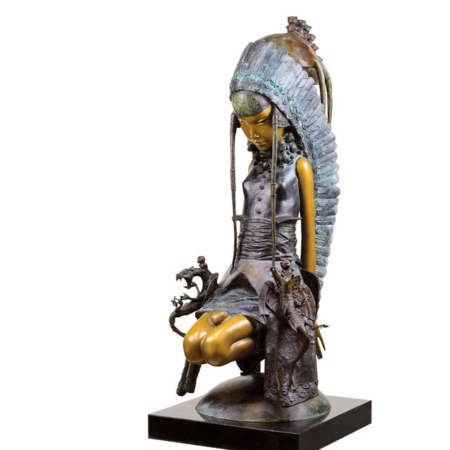 , 'Heart of the Princess,' 2017, OSTASHOV sculpture