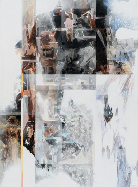 Leo WANG, ' Wisp Stranded Series S4', 2018, Painting, Oil on canvas, Liang Gallery