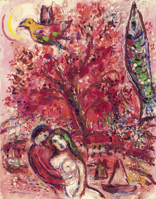 , 'Cirque Rouge,' 1956-1960, Athena Galeria de Arte