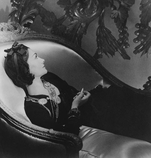 , 'Coco Chanel,' , Isabella Garrucho Fine Art