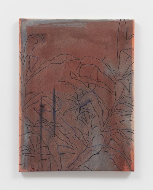 Roman Cochet, 'Hommage à Sylvia Plimack Mangold', 2019, Painting, Oil on canvas, Alexander and Bonin