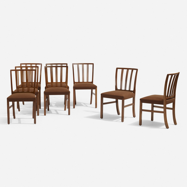 Ole Wanscher, 'Dining chairs, set of eight', c. 1965, Wright
