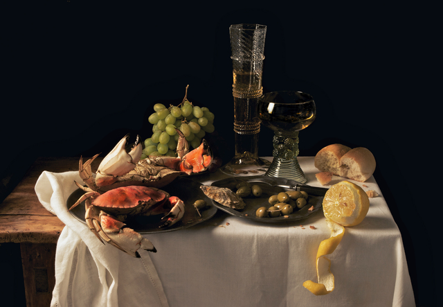 , 'Crabs and Lemon, after P.C.,' 2009, Robert Mann Gallery