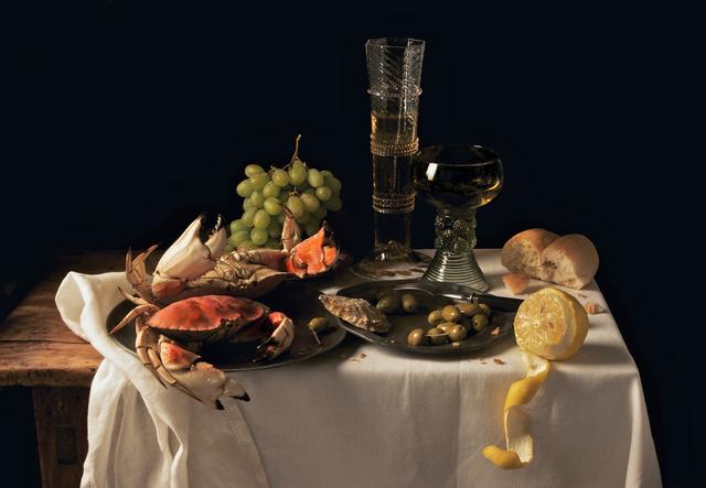 Paulette Tavormina, 'Crabs and Lemon, after P.C.', 2009, Robert Mann Gallery