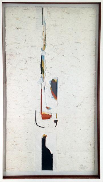 , 'Vertical en rojo,' 2004, Galería del Paseo