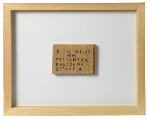 , 'Untitled (Wood),' 1994, The Mayor Gallery