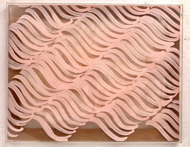 Carla Accardi, 'Segni rosa', 1971, M&L Fine Art