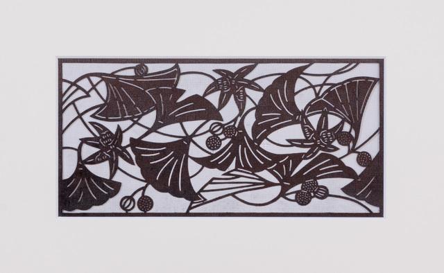 , 'Ise katagami (stencil) ginko pattern, Japanese, Showa period,' ca. 1960, Micheko Galerie