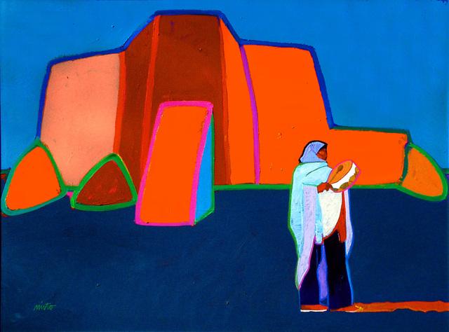 John Nieto, 'Drum Talk Ranchos de Taos Church', 2004, Ventana Fine Art