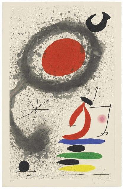 Joan Miró, 'Soleil ebouillanté', 1969, Christie's