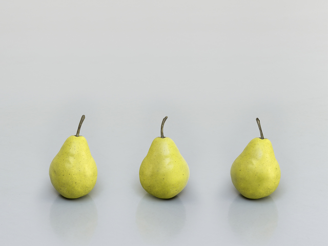 , 'still.life (three pears),' 2011, Sadie Coles HQ