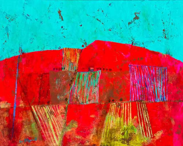 , 'Barn on the Road to Brignac,' 2018, Catto Gallery