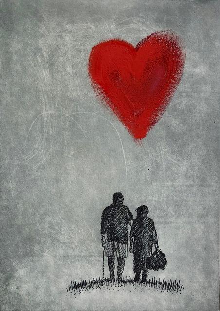 , 'Love,' 2018, Queenscliff Gallery & Workshop