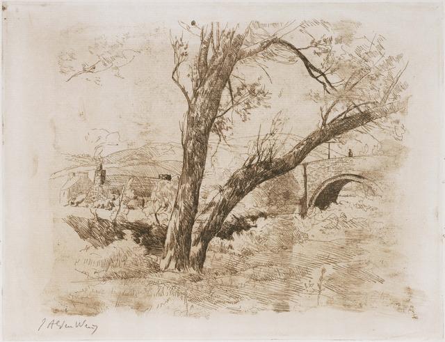 Julian Alden Weir, 'Sulby Glen-Isle of Man', 1889, Phillips Collection
