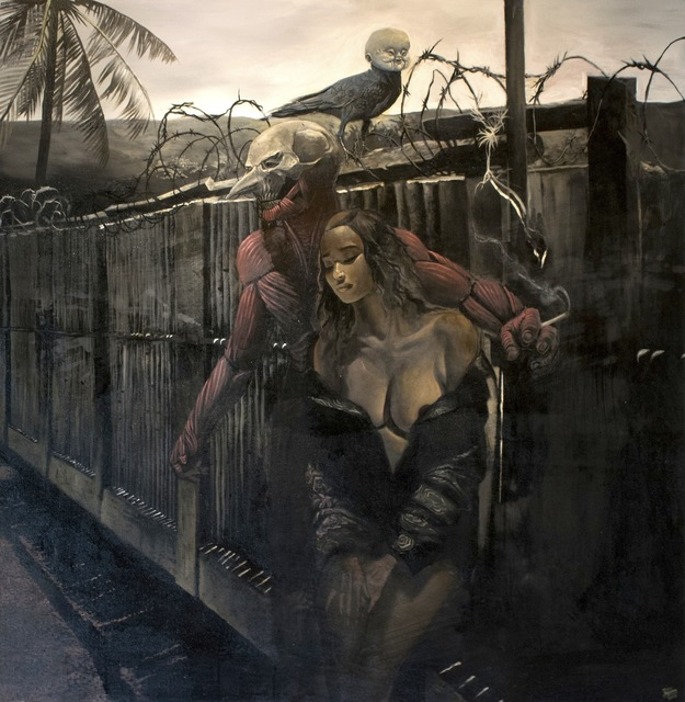 , 'Captive,' 2017, Qube Gallery