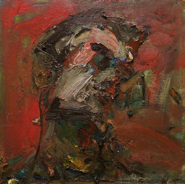 , 'Head of Caleb,' 2017, Castlegate House Gallery