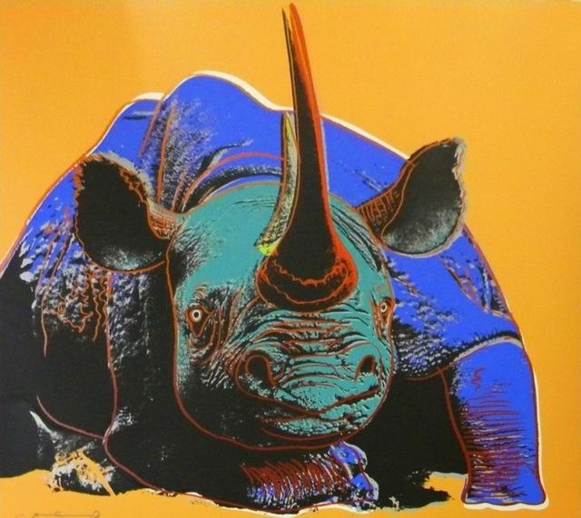 Andy Warhol, 'Black Rhinoceros (FS II.301)', 1983, Revolver Gallery