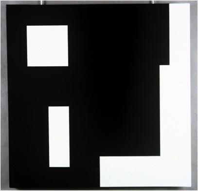 Aurelie Nemours, '4+3+9+16b+t+6', 1987, Galerie Denise René