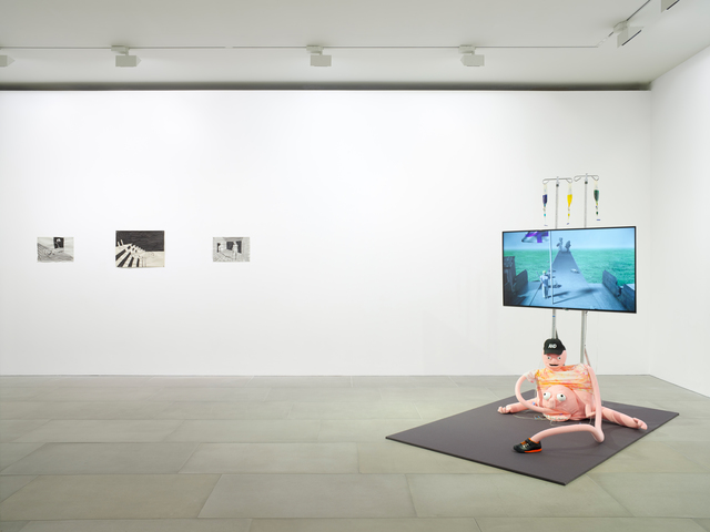 Erkka Nissinen, Installation View, 2018, Courtesy of the artist and BlainSouthern, Photo Peter Mallet