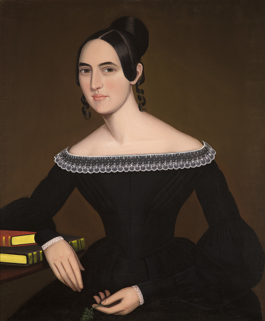 , 'A Portrait of Jeanette Payne,' c. 1841, Godel & Co.