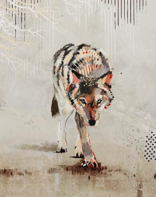 Samantha Walrod, 'Striped Wolf Road', 2019, Newzones