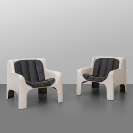 A pair of 'Gaia' armchairs
