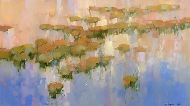 Vahe Yeremyan, 'Waterliles', 2019, Vayer Art