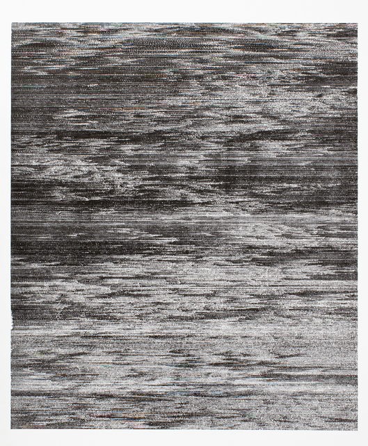 , 'Notes on Radigue,' 2019, Auckland Print Studio