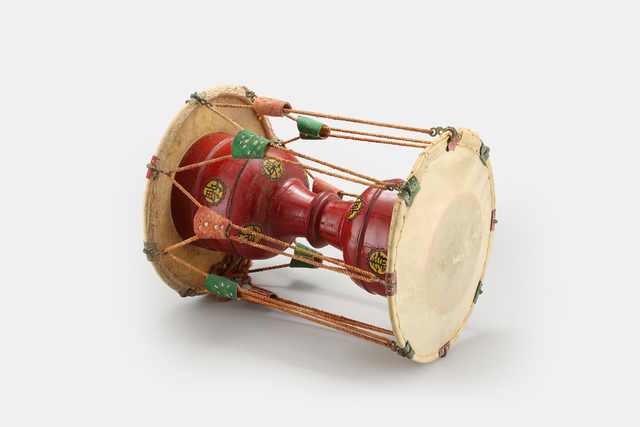 , 'Double-Sided Drum (Korea),' Early 20th Century, Newark Museum