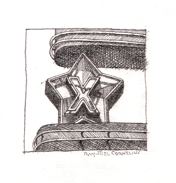 , 'X,' 2017, Ro2 Art