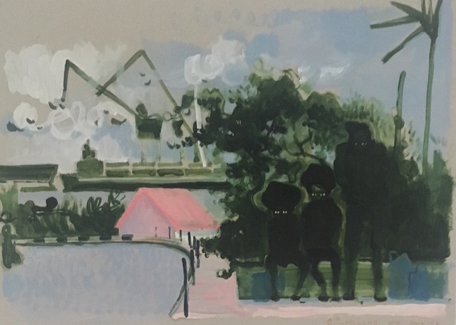 , 'Pudelclub Hamburg,' 2018, Galerie SOON