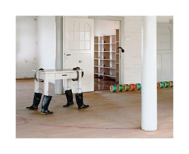 , 'Running out 4,' 2016, Galerie Kleindienst