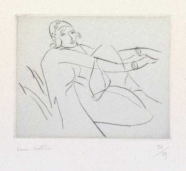 , 'Le bonnet fleuri,' 1929, Bernard Jacobson Gallery