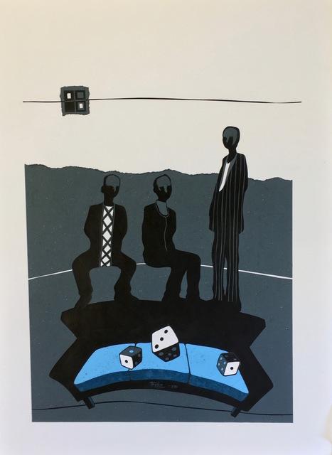 , 'Seating Chance III (Empty Seats),' 2016, ARTLabAfrica