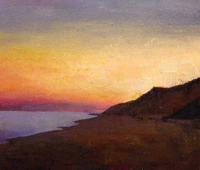 , 'Sunset,' 2010-2017, Eisenhauer Gallery