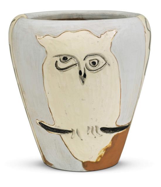 , 'Face and owl [Visage et hibou],' 1958, BASTIAN