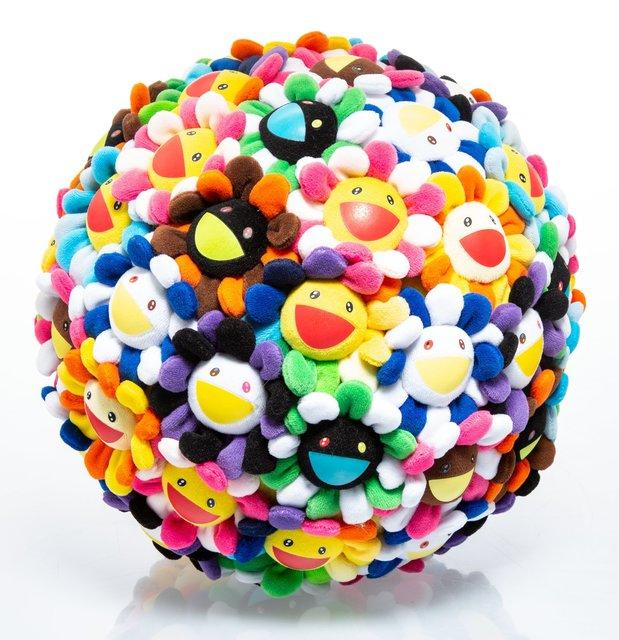 Takashi Murakami, 'Plush Flowerball', 2008, Heritage Auctions