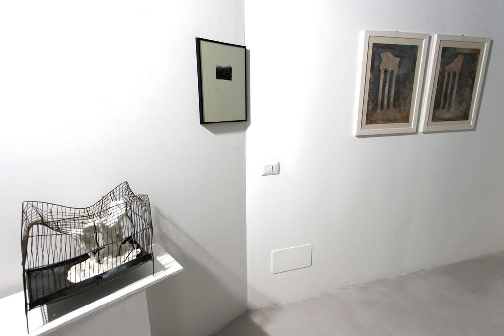 Installation view: Mattia Vernocchi, Luca Piovaccari, Remo Suprani