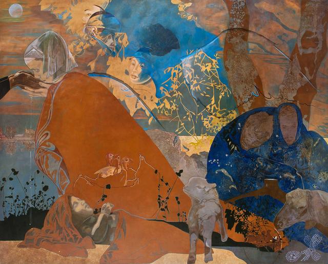 , 'La Regina della Notte e della Luna,' 1998-2011, Heather James Fine Art